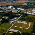 Aerial Image of Marx Business Park in Quincy, Illinois