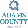 Adams County, IL Logo GREDF Colors PNG