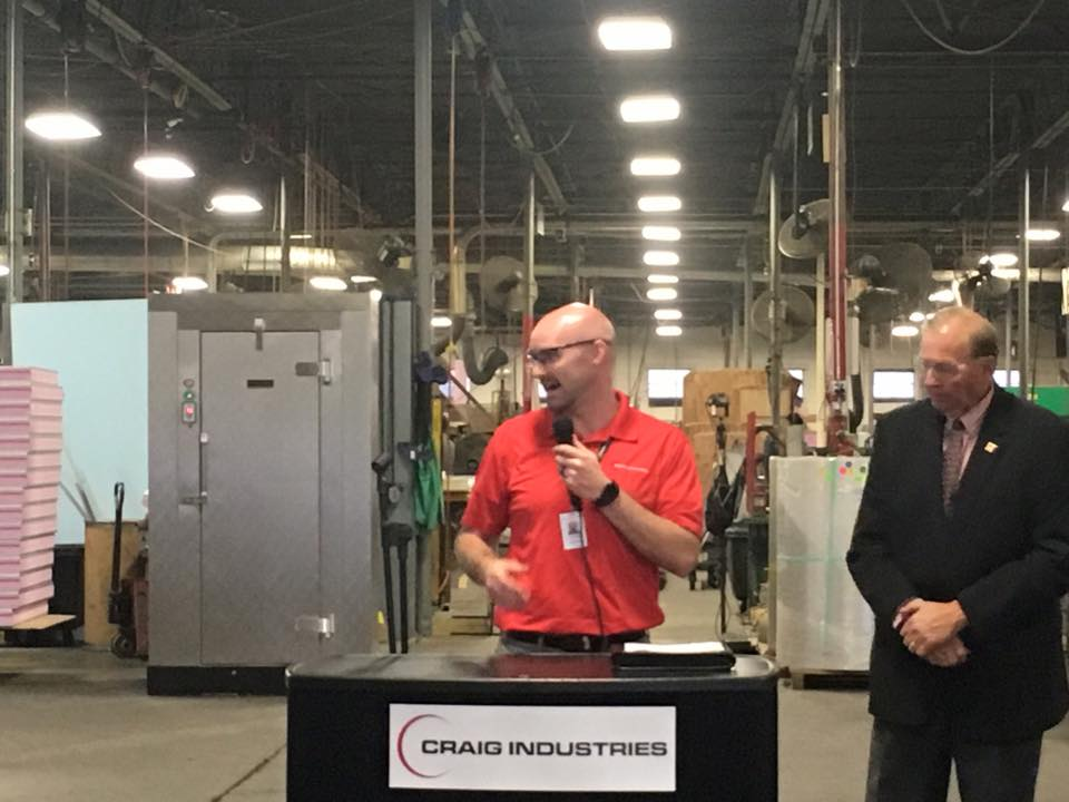Press Conference to Celebrate our Manufacturers and MakerFest