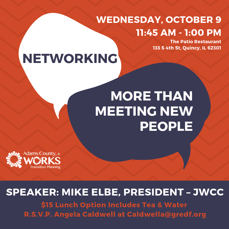 Networking | More Than Meeting New People