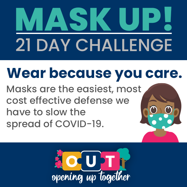 Mask Up #21DayChallenge