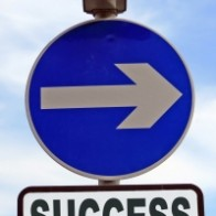 Entrepreneurship Success Sign