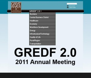 Graphic for 2011 GREDF Annual Meeting in Quincy, IL
