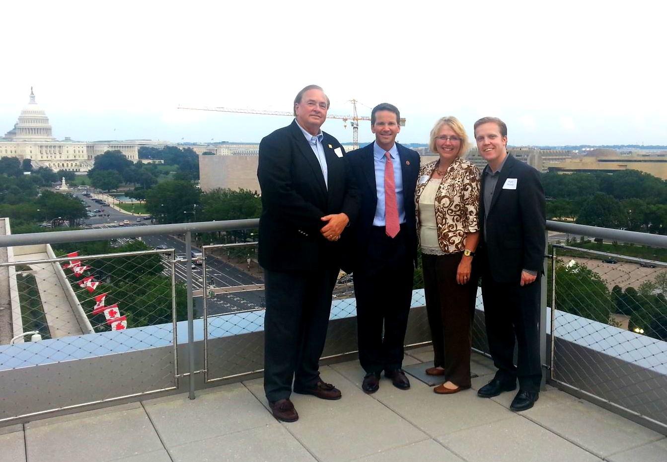 GREDF President Talks Critical Issues During Washington, D.C. Trip