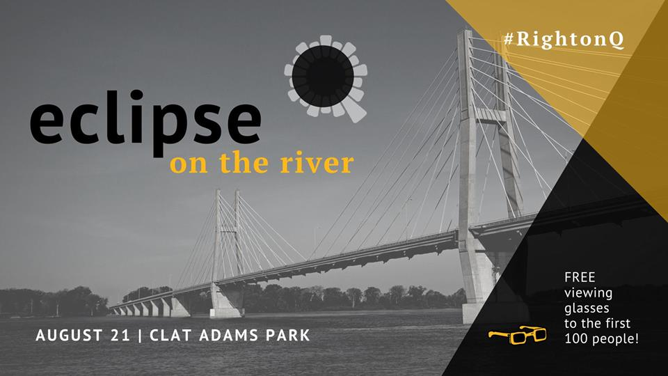 Eclipse on the River