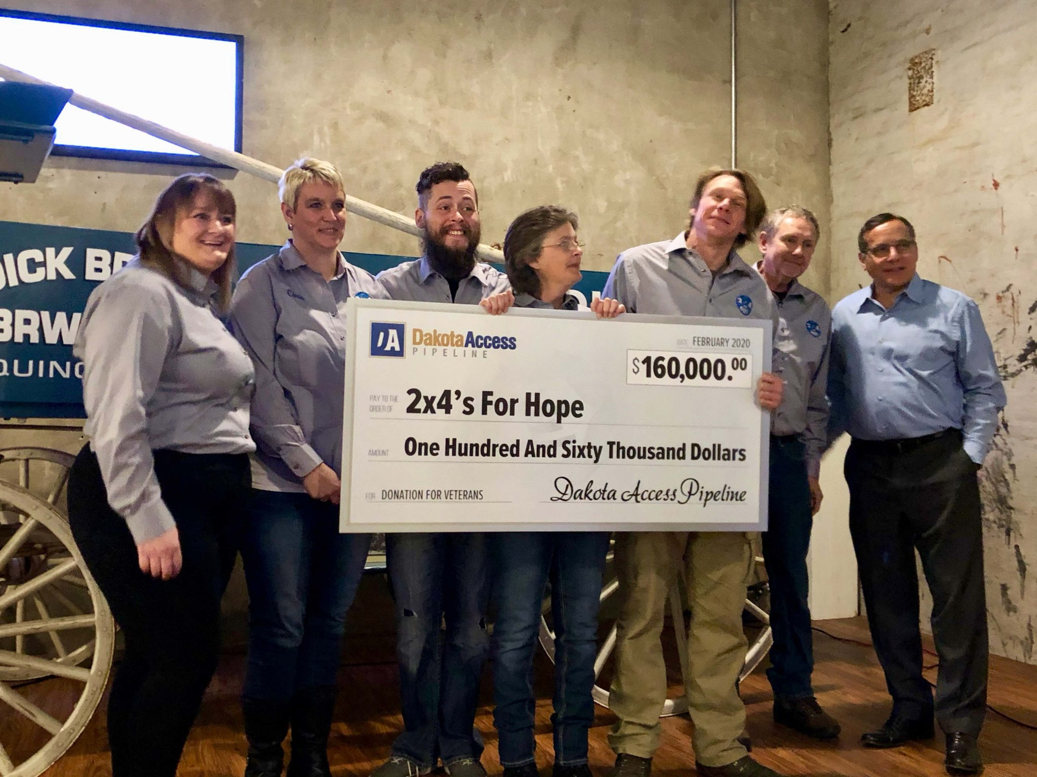 2×4's For Hope Receives National Donation